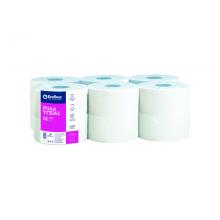 Тоалетна хартия на ролка 12x450 гр. Бяла