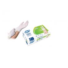 Еднократни латексови ръкавици без прах, бял, 100 бр. в опаковка - ENDLESS