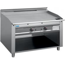 Газова скара TED2/120G - 2 x 5,8 KW / Stainless Steel