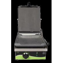 Електрически контактен грил - тостер, с гладка или оребрена плоча - T302